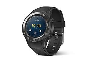 Amazon Prime: HUAWEI WATCH 2 (Bluetooth) Smartwatch mit schwarzem Sportarmband für 219,29€