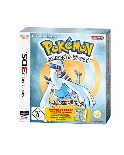 Pokémon Silber - Standard Edition (Code in der Box) - [Nintendo 3DS] für 6,98€ @Amazon Prime !