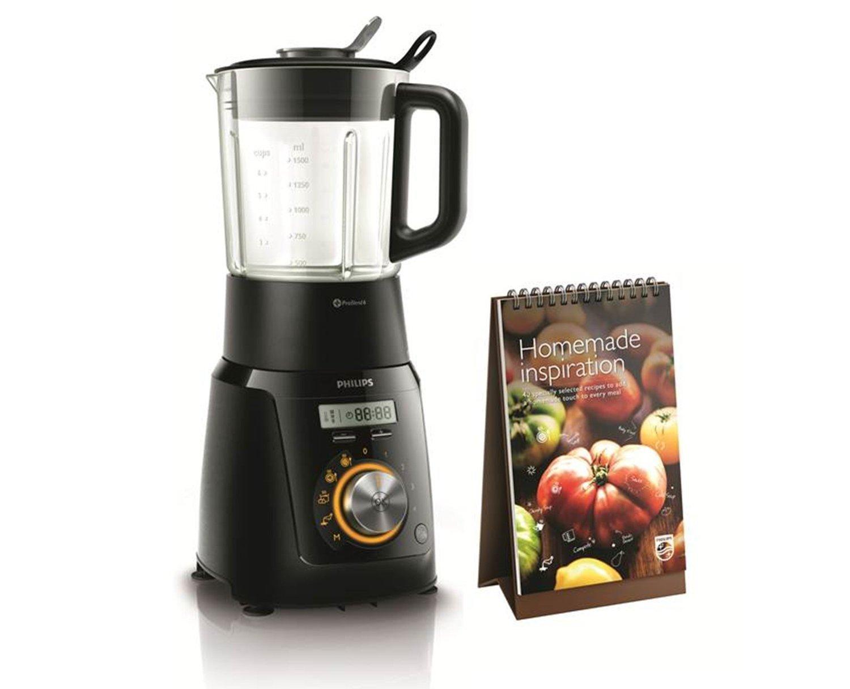 Philips HR2099/90 Standmixer (Kochfunktion, 1100 Watt, Ice-Crush) schwarz für 79,99€ (Vergleich: 187€) Versandkosten nicht eingeschlossen (Amazon.it)