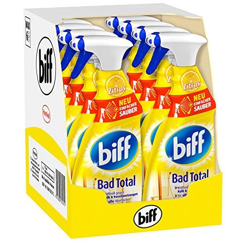 [www.AMAZON.de] Biff Bad Total Zitrus, 8er Pack (8 x 750 ml) für € 7,69 für Prime Kunden od Spar Abo € 6,50