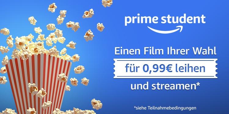 [Amazon.de][PRIME Student] Einen Film für 0,99€ leihen