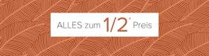 Dress for less: alles zum 1/2 Preis