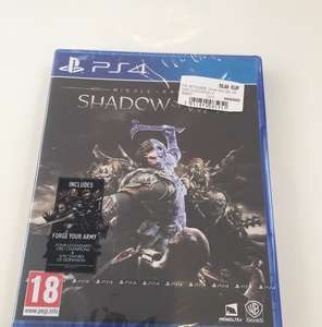 Middle-Earth: Shadow of War Ps4/X1