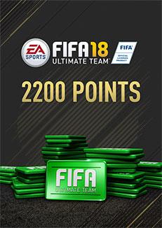 FIFA 18 2200 FUT Points DLC - PC