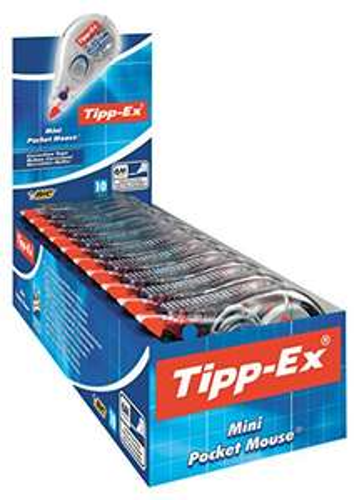 [Amazon.de] Tipp-Ex Mini Pocket Mouse Korrekturroller 10er Pack für 8,41€ // Sparabo 7,15€