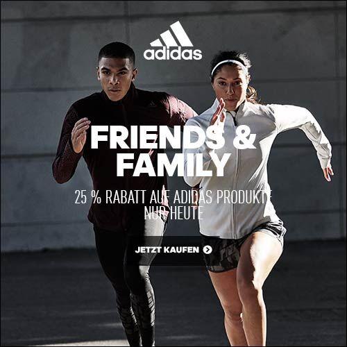 Adidas: 25% Rabatt auf alles (inkl. Outlet) - nur am 12. Oktober gültig!