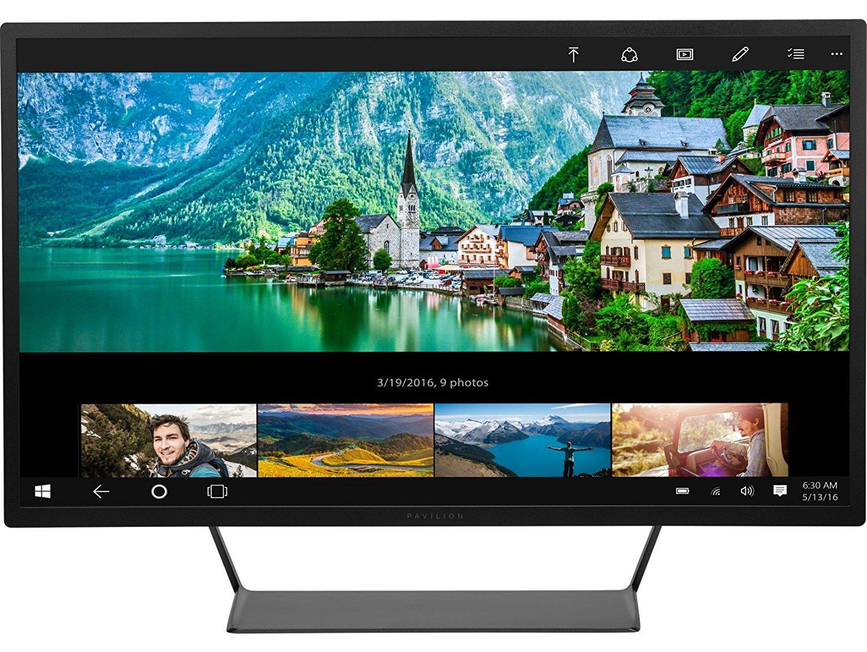"""HP Pavilion V1M69AA 32"""" Zoll Monitor(81,28 cm) mit HMDI, DisplayPort, USB uvm. in schwarz für 279€ [Amazon Prime]"""