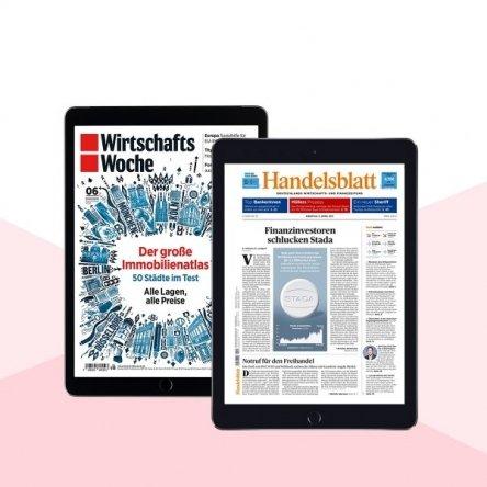 """Studenten: 12 Monate """"Handelsblatt"""" & """"WirtschaftsWoche"""" GRATIS"""