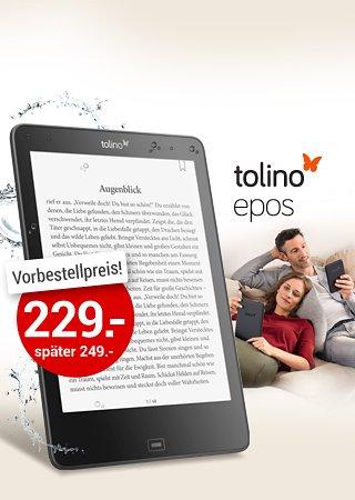 Neuer tolino E-Reader um 20€ billiger
