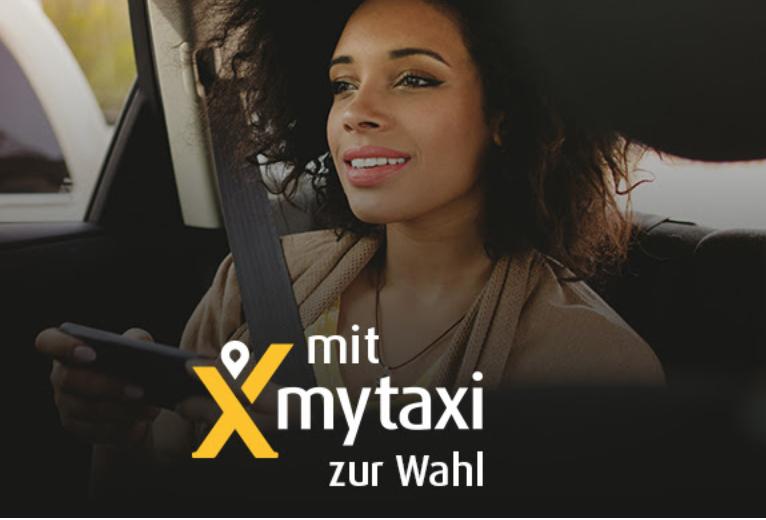 15€ myTaxi Gutschein zur Wahl