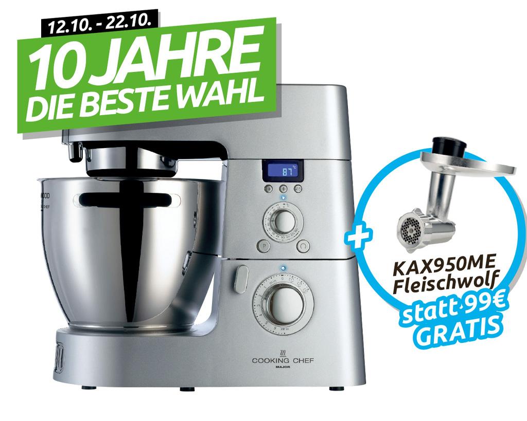 Top Küchenmaschine Kenwood KM 096 zum Bestpreis