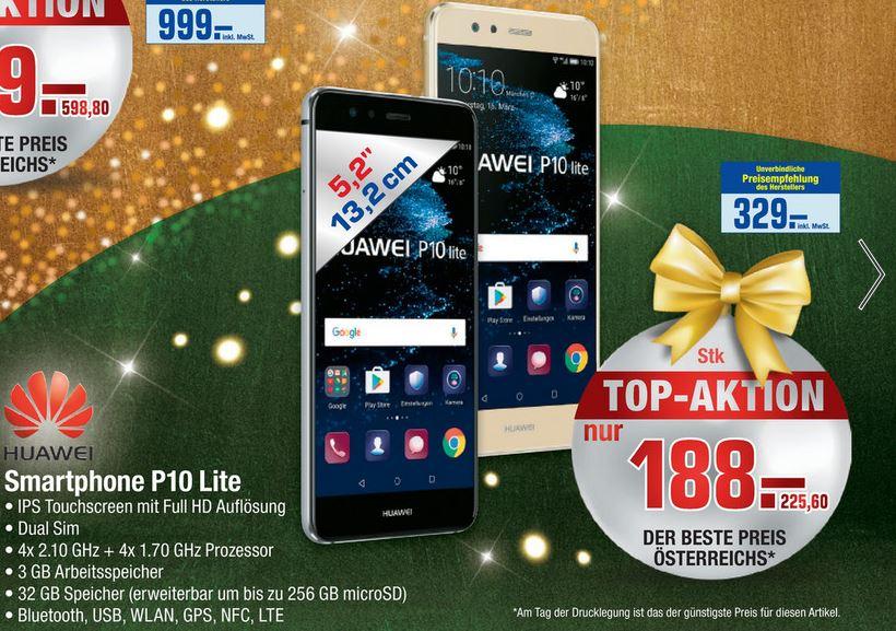 [Metro] Huawei P10 Lite Dual-SIM 32GB/3GB für €225,60