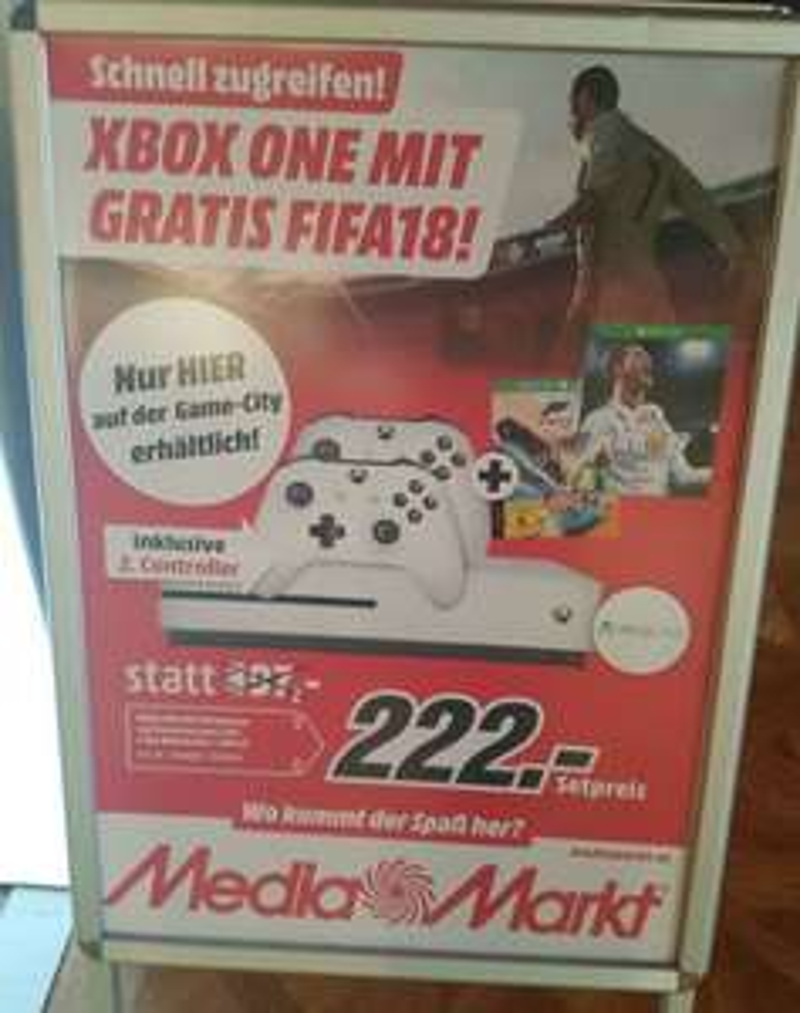 Mediamarkt/Gamecity XBOX One s Aktion