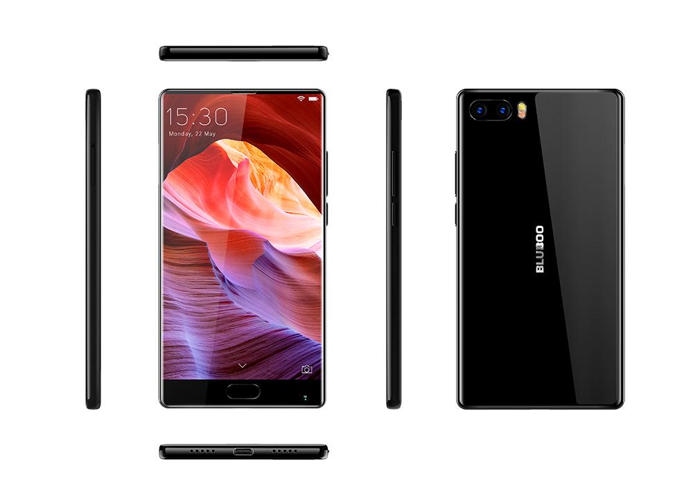 [Gearbest] Bluboo S1 randloses Smartphone mit Band 20 und Android 7.0 für 120,65 € - 25% Ersparnis