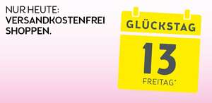 BIPA: gratis Versand - nur heute, 13.10.2017
