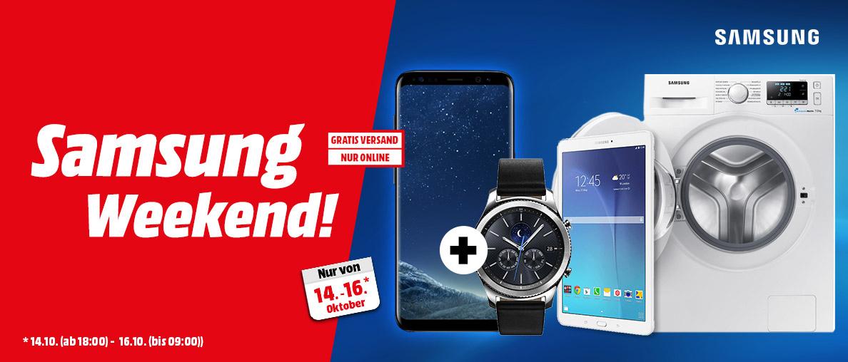 Media Markt SAMSUNG Galaxy S8 Midnight Black (oder in anderer Farbe) im Set mit der Samsung Gear S3 Classic um 589€ inkl.Versand