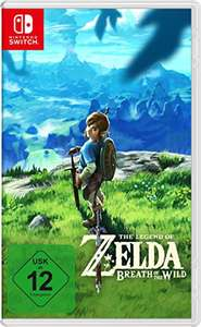 Amazon.de - (Nintendo Switch): The Legend of Zelda - Breath of the Wild um 48,40€ // Mario Kart 8 Deluxe um 40,33€