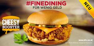KFC Wien/Linz - Cheesy Booster (Cheese Burger) für 1,50