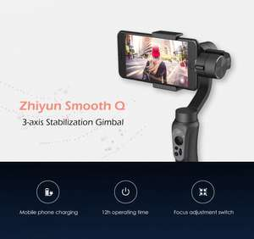 Zhiyun Smooth-Q 3-Achsen Smartphone Gimbal Gearbest