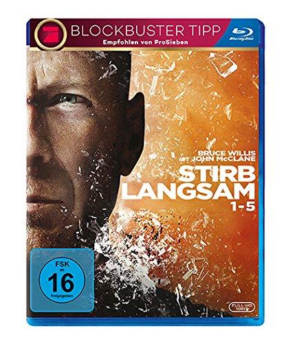 [Amazon] Stirb langsam 1-5 [Blu-ray] für 16,13 € statt 19,89 €
