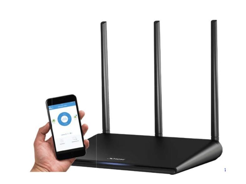 Dual Band Router mit App Steuerung um € 29,-