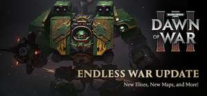 Warhammer 40,000: Dawn of War III - Play for Free Weekend auf Steam. Download ab sofort möglich...