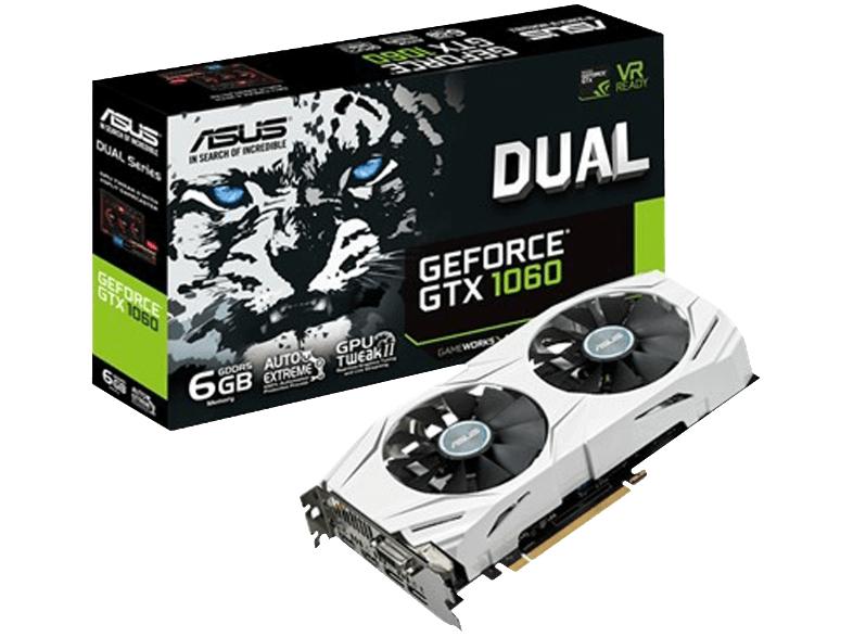 [Media Markt] 8bis8 Nacht - ASUS Dual GeForce GTX 1060 Grafikkarte um 265 € statt 309,58 €