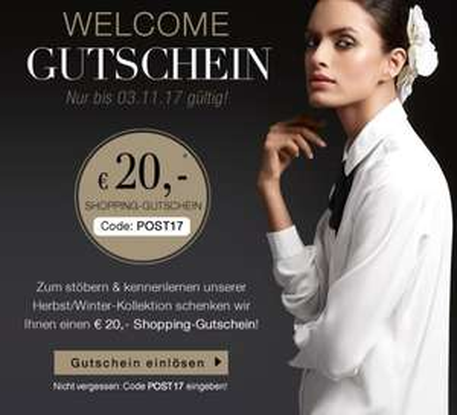 € 20 Rabatt bei www.madeleine-mode.at