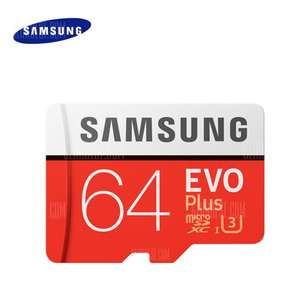 Original Samsung UHS-3 64GB Micro SDXC Memory Card ORANGE