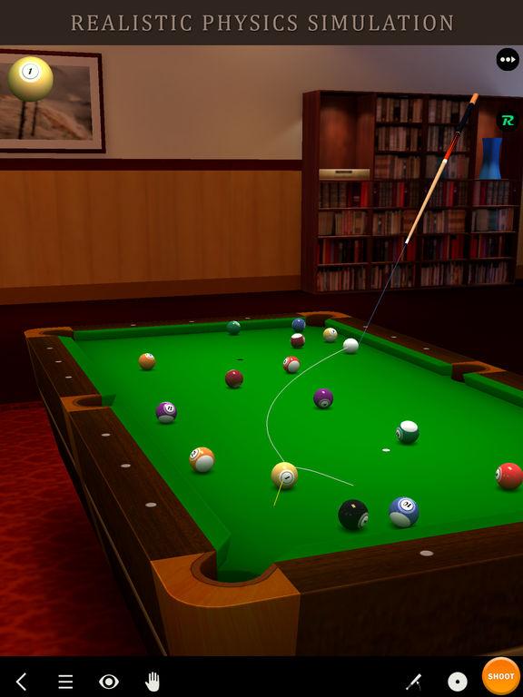 [iOS] Pool Break - 3D Billiards und Snooker kostenlos