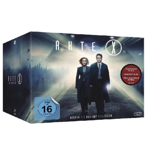 Amazon.de: Akte X - Staffel 1-9 (55x Blu-ray) um 70,58€