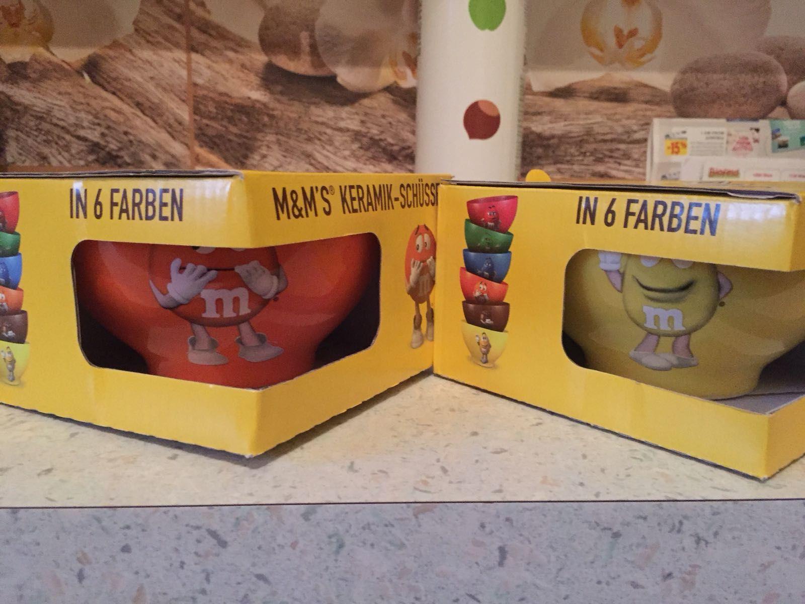 Gratis M&Ms Keramikschüssel bei SPAR