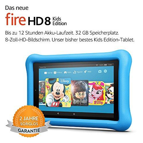 Amazon: Fire HD 8 Kids Edition-Tablet um 90,92 statt 139,99