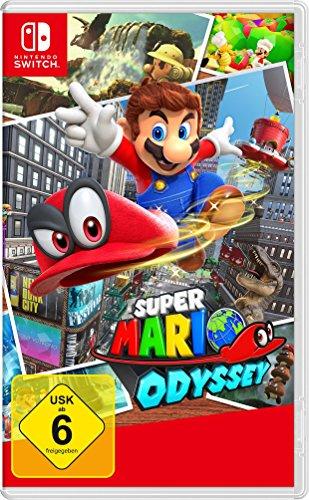 Amazon.de: Super Mario Odyssey um 46,40€ // als Switch + Mario Odyssey Bundle (kein Download) um 364,16€