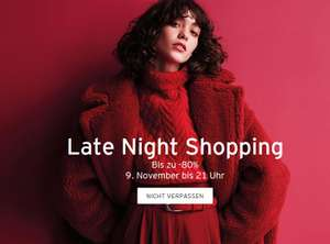 Vorabinfo: Designer Outlet Parndorf: Late Night Shopping am 9.11.2017