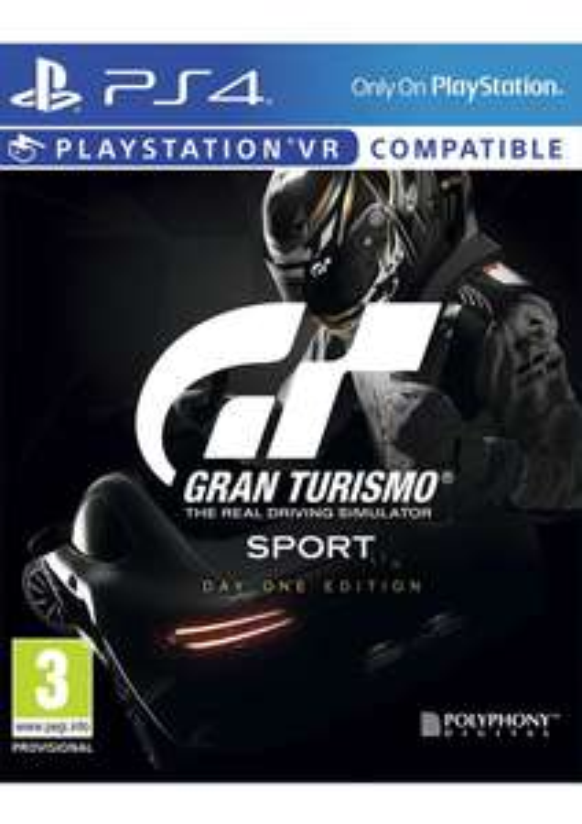 Gran Turismo: Sport Day One Edition (PS4) für 42€ inkl. Versand