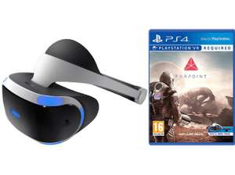 Media Markt: Sony PlayStation VR Headset + Farpoint für 301€
