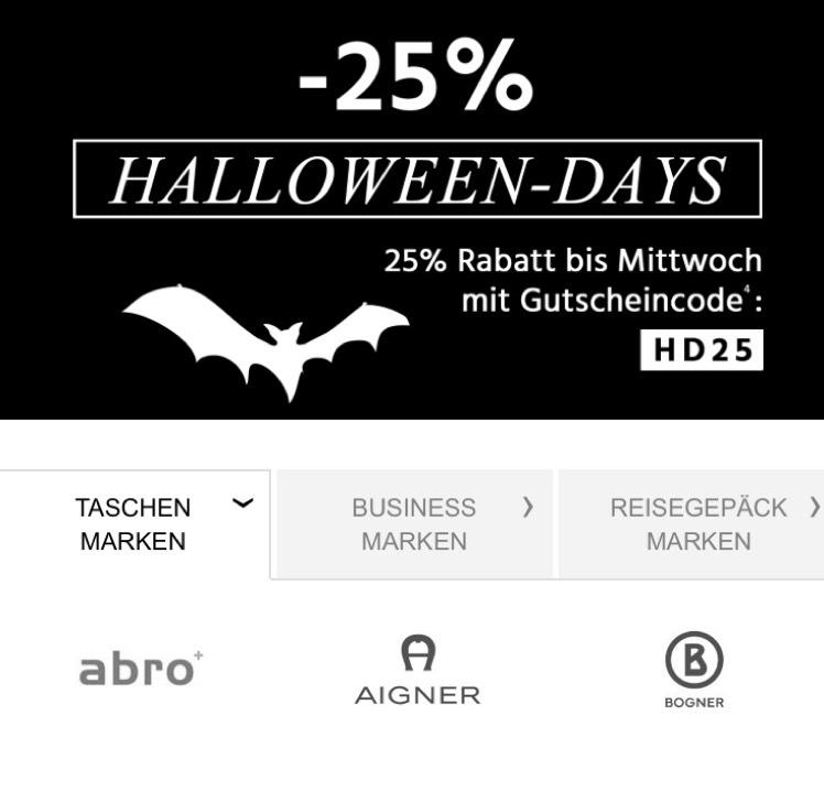 -25% auf reguläre Taschen (ausgenommen Sale) bei Premium Mall