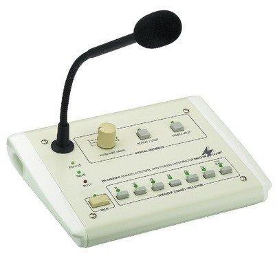 (Dinge die niemand braucht) Monacor PA-6000RC PA-Tischmikrofon um 58 € - 80%