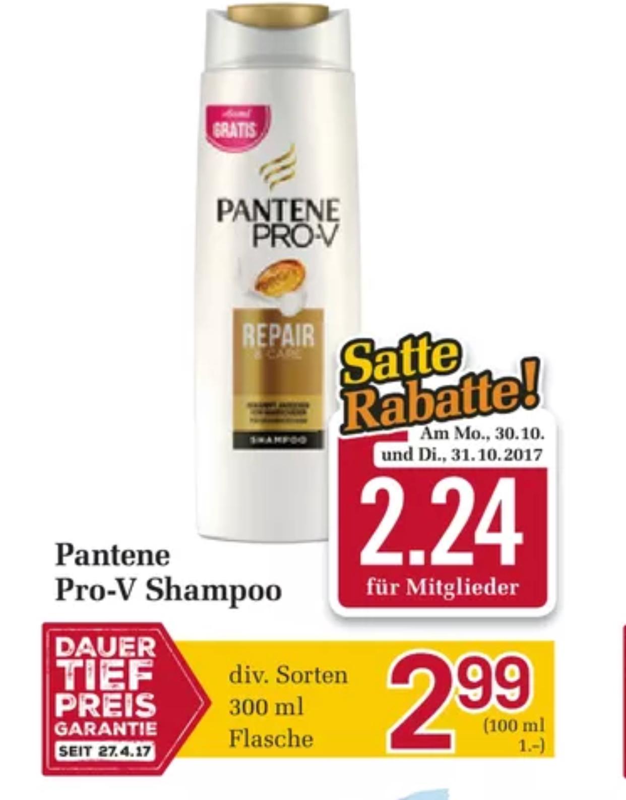 Pantene Pro V für 1,24€