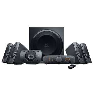 Amazon.de: Logitech Z906 3D-Stereo-Lautsprecher 5.1 THX Soundsystem um 200,68€