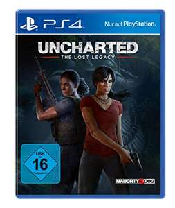 Amazon Prime: Uncharted: The Lost Legacy (PlayStation 4) für 19,99€