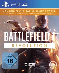 GameStop: Battlefield 1 - Revolution Edition (PS4 / Xbox One / PC) für 34,99€