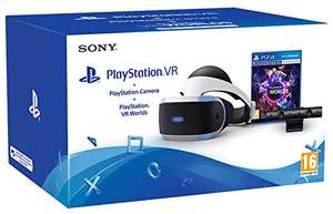 PlayStation VR + Kamera + VR Worlds um 313 €