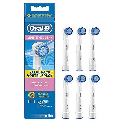 """Oral-B """"Sensitive Clean""""  - 6 Aufsteckbürsten für 13,95 bei Amazon"""