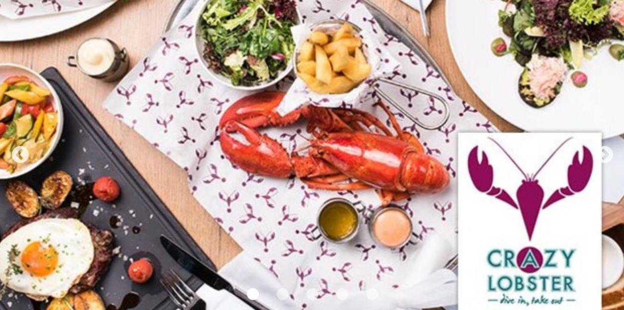 (Nobel Essen) Crazy Lobster Wien: Hummer, Schneekrabbe und Steak - 3 Gänge für 2 um 60 € - statt 120 €