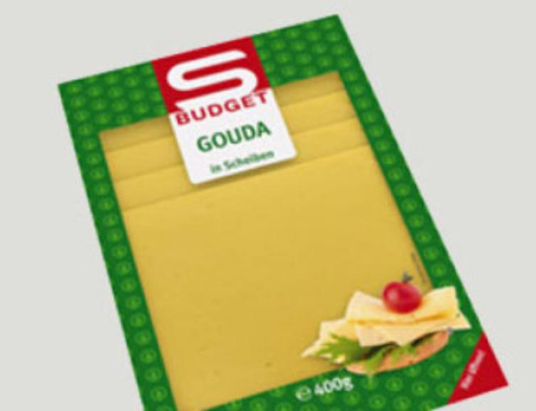 Spar Produktrückruf - S-Budget Gouda Käse (MHD 22.1.2018)