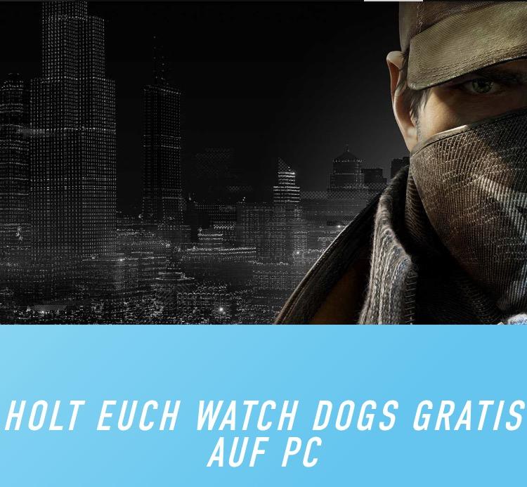 Watch Dogs kostenlos downloaden zwischen dem 07.11. - 13.11. [uplay]