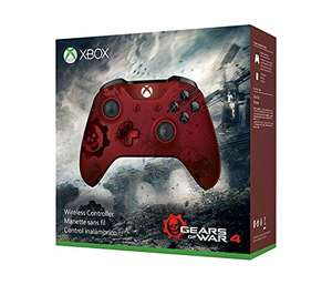 Amazon.de:  Xbox Wireless Controller - Gears of War 4 Crimson Omen Limited Edition um 45,37€ (optional + 3 Monate Xbox Live Gold  um 13,49€)