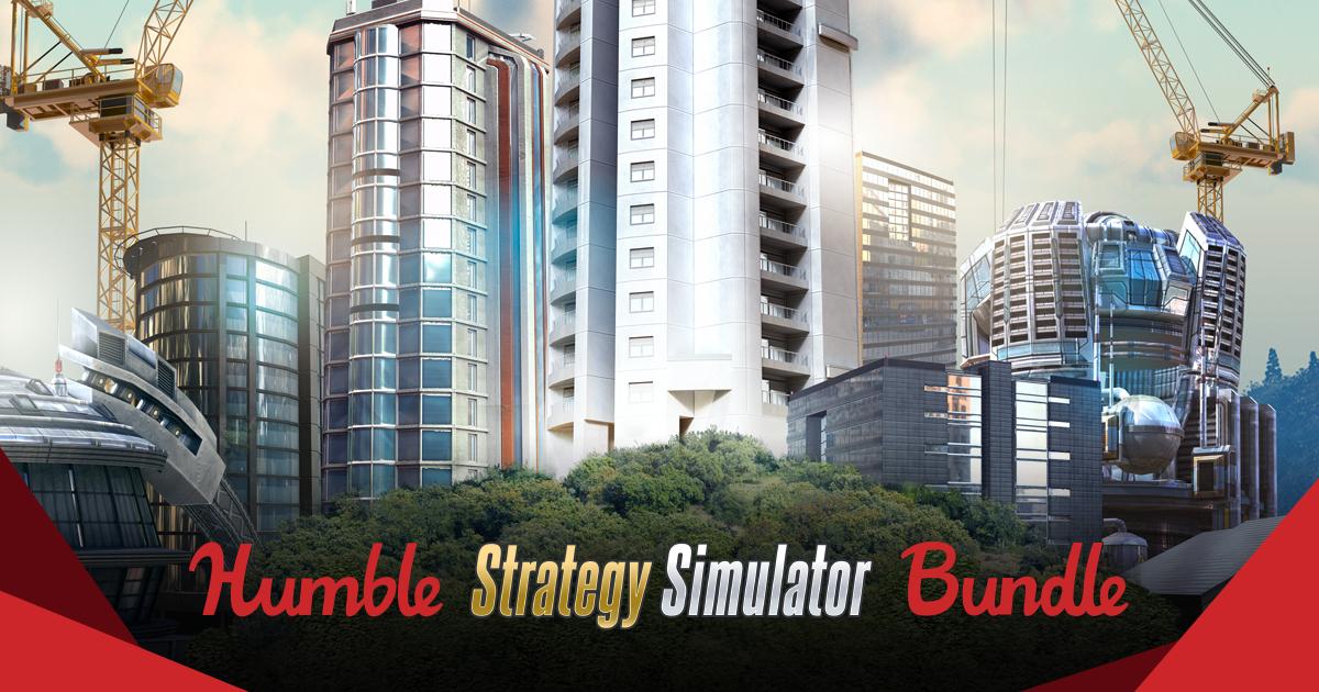 Humble Strategy Simulator Bundle - bis zu 7 Spiele (Steam) ab 0,86€